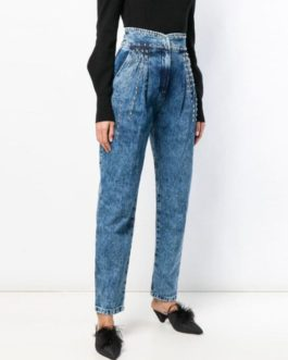 Stylexaa Denim Trousers For Women