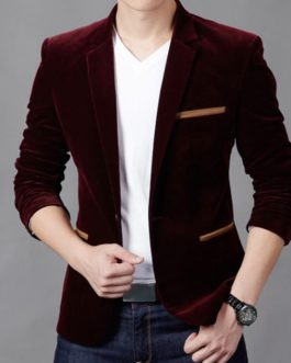Stylexaa Mens Fashion Brand Blazer